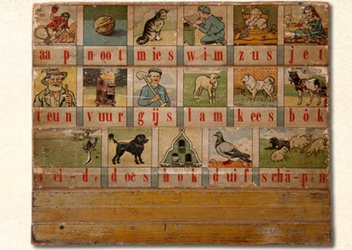 Kleurplaten Aap Noot Mies.Leesplankje M B Hoogeveen Omstreeks 1910 T M 1916